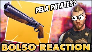 [REACTION] THE BOLSO RESACT ON FORTNITE ITA! REAL VICTORY - ANIMATED GAMEPLAY