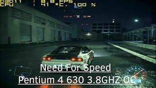 Need For Speed 2016 - Pentium 4 630 - NVidia GeForce GT 610 - 3GB RAM