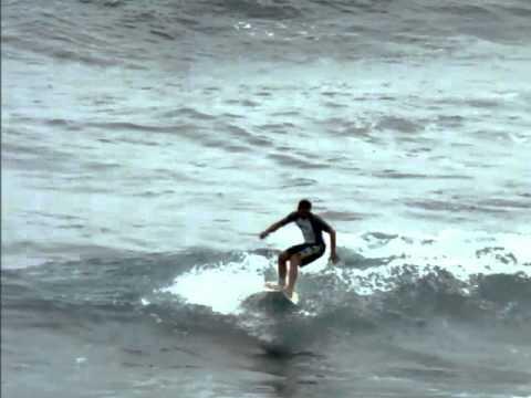 Relajación, Sonido del mar, Surf y Bodyboarding en el pico de Quintanilla