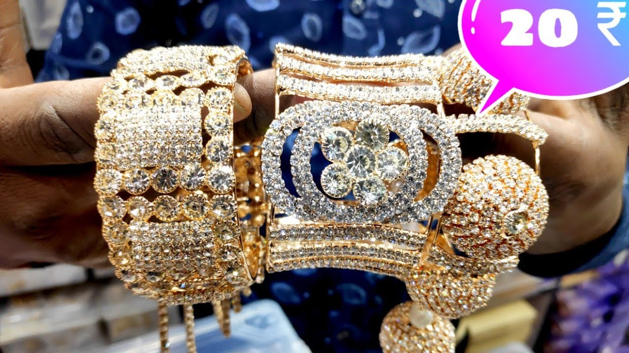 हाथ के कंगन Hi gold bangles wholesale market    cheapest artificial  jewellery wholesale market