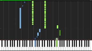 Legendary Hero   The Legend of Zelda  The Wind Waker Piano Tutorial Synthesia