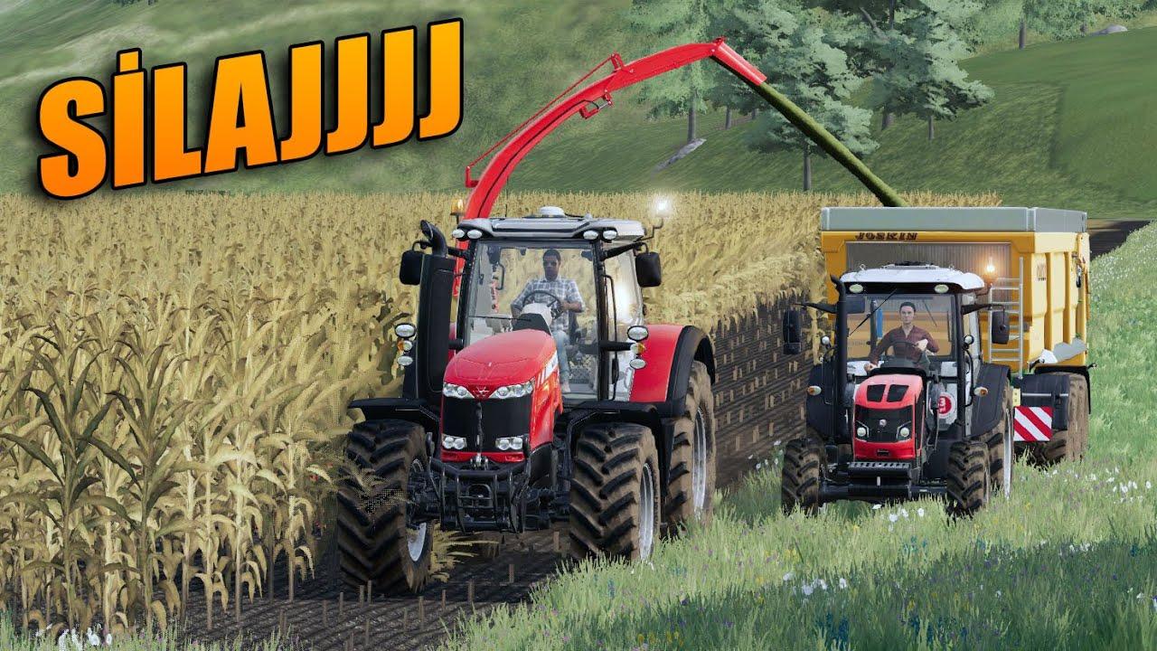 FOLLOW ME MODUNA SİLAJ YAPTIRDIK! FARMING SIMULATOR 2019 TÜRKÇE!