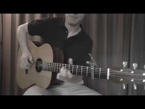 Chandelier by Sia - acoustic fingerstyle cover