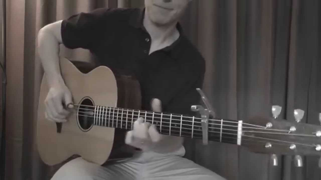 Chandelier by Sia - acoustic fingerstyle cover - YouTube