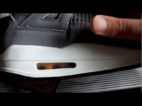 AIR JORDAN IV 4 COOL GREY + TIPS ON SHOE CREASING,CLEANING N MORE