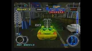 Hot Wheels Velocity X (PS2) - Desert Race