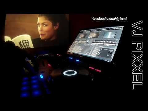 VJ Pixxel - MNML Minimix 2017 Live Video DJ Mix