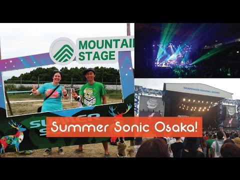 SUMMER SONIC 2015 OSAKA! Music Festival in Japan! Baby Metal, Kyari Pamyu Pamyu, The prodigy...
