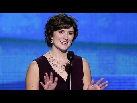 DNC 2012 - Sandra Fluke Address the DNC - YouTube