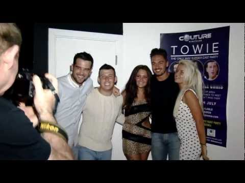 Mario Falcone, Ricky Rayment, and Little Chris - TOWIE Party Couture