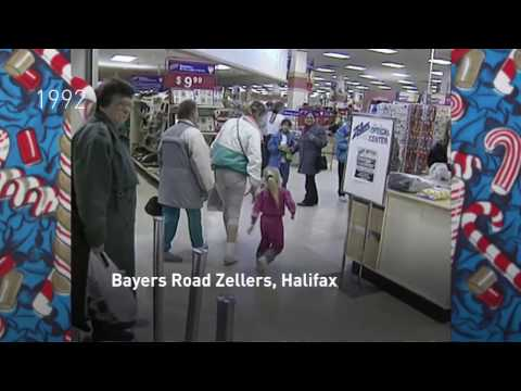 CBC Archives: Christmas shopping in Halifax over the years