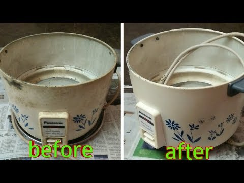 How to clean rice cooker easy method