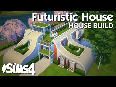 The Sims 4 House Building - Futuristic House