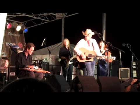 """Abilene"" -Dave Alvin and the Guilty Women - Live at the Santa Monica Pier 8/6/09"