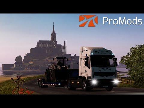 Euro Truck Simulator 2 - Au revoir ProMods - Timelapse #49
