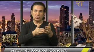Andy and Kouros Concert