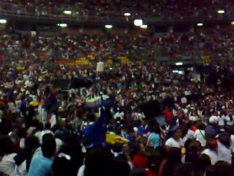 Ola en concierto de big time rush m xico palacio de los for Puerta 7 palacio delos deportes