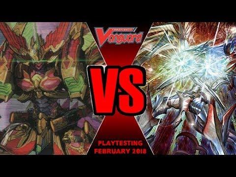 Messiah Vs Kagero Overlord - Cardfight Vanguard Playtesting February 2018