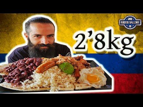 BANDEJA PAISA COLOMBIANA | Nuevo reto de comida en Paterna (Valencia)