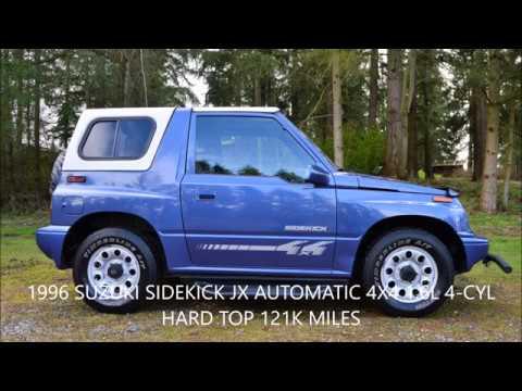 1996 Suzuki Sidekick Jx 1 6l 4