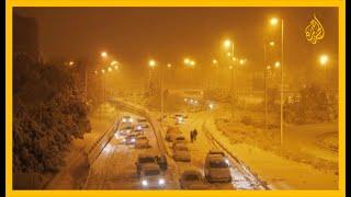 العاصفة الثلجية في إسبانيا تجبرالسلطات على إغلاق مرافق حكومية في مدريد