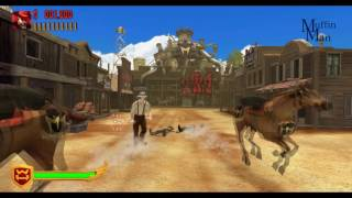 Gunslingers Wii Gameplay HD