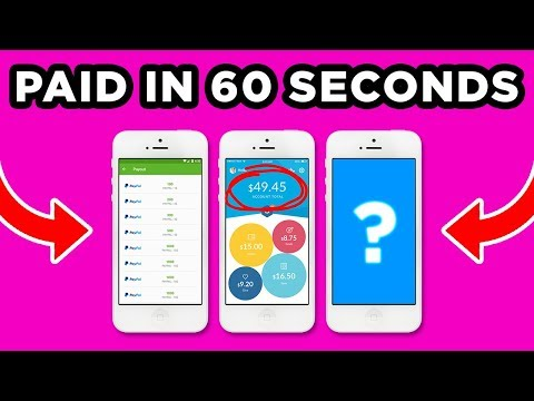 BEST Apps That PAY YOU Under 60 SECONDS!!