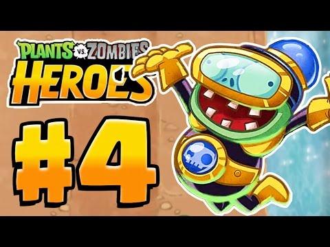 IMPFINITY HERO! NEW HERO!  | Plants Vs Zombies Heroes Gameplay Walkthrough Part 4 (PvZ Heroes Ep 4)