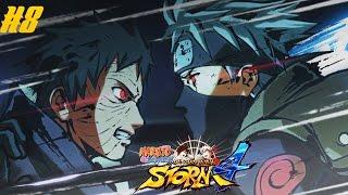 Naruto Ultimate Ninja Storm 4 Story Mode: Kakashi Vs. Obito