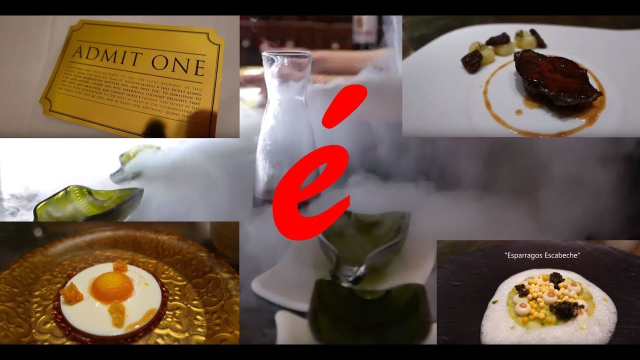 E By Jose Andres 21 Course Las Vegas Meal