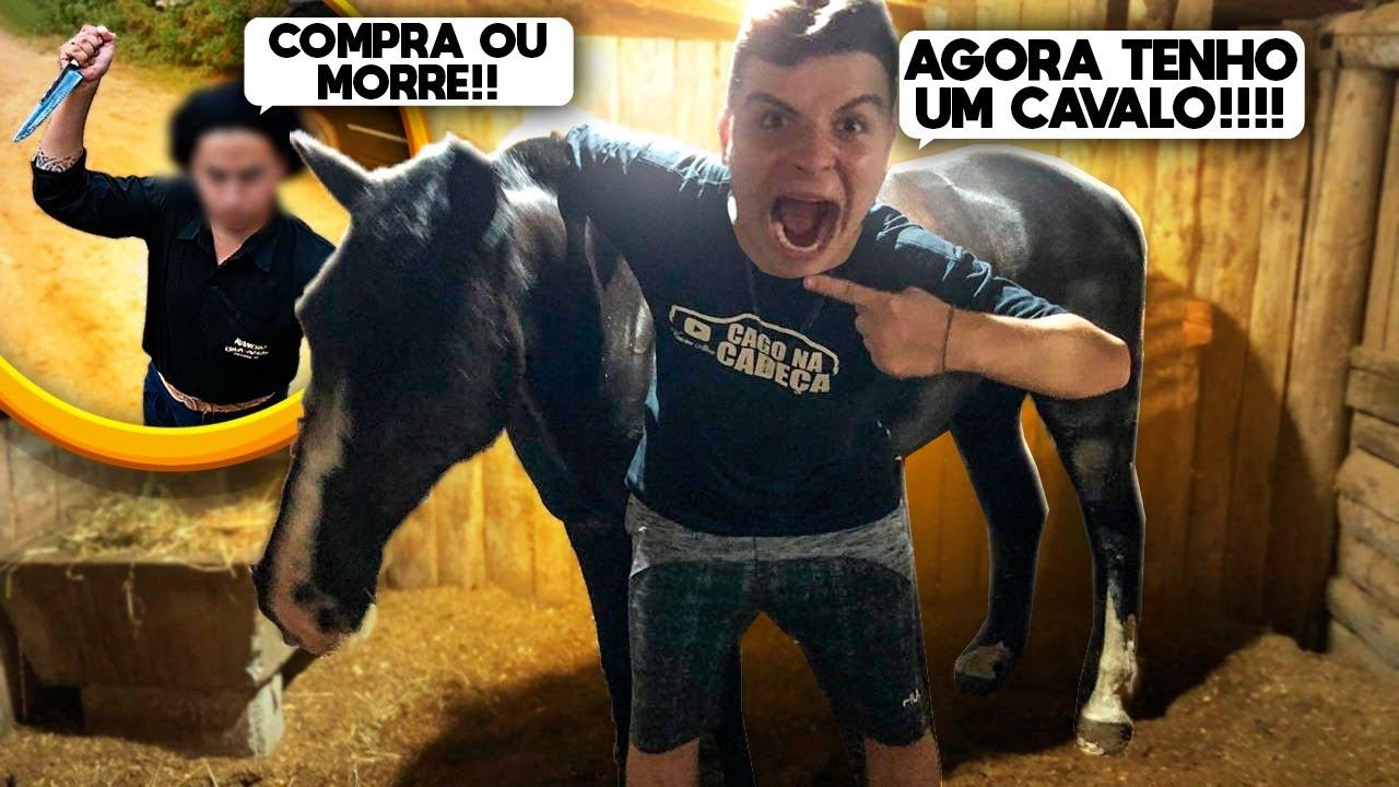 Download TIVE QUE C0MPRAR O CAVALO PRA NAO M0RRER!!!!