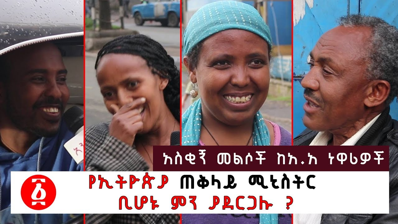 What Would You Do If You Were PM of Ethiopia? - የኢትዮጵያ ጠቅላይ ሚኒስትር  ቢሆኑ ምን ያደርጋሉ?
