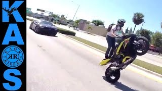 Crazy Angry People Harassing Riders | Bad Drivers 2017