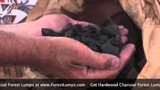 Hardwood Charcoal Lumps by ForestLumps