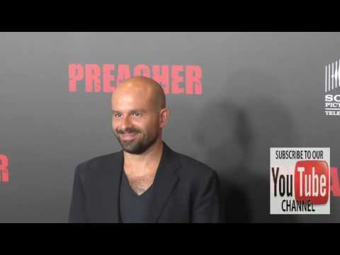 Anatol Yusef at the Premiere Of AMC's Preacher at Regal LA Live Stadium 14 in Los Angeles