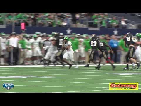 HIGHLIGHTS: Cuero vs Pleasant Grove - 2018 4A Division II Football State Finals