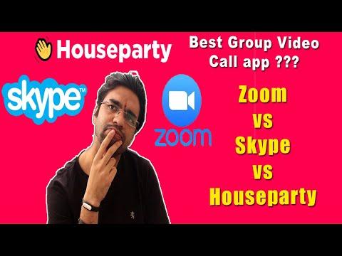 Zoom Video Conferencing Vs Skype Meet Now | Skype Group Video Call