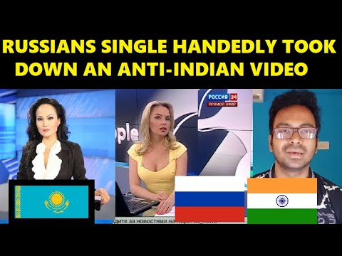 Kazakhstan Media Caught Red Handed Spreading Lies about Covid Situation in India , Russian Protests