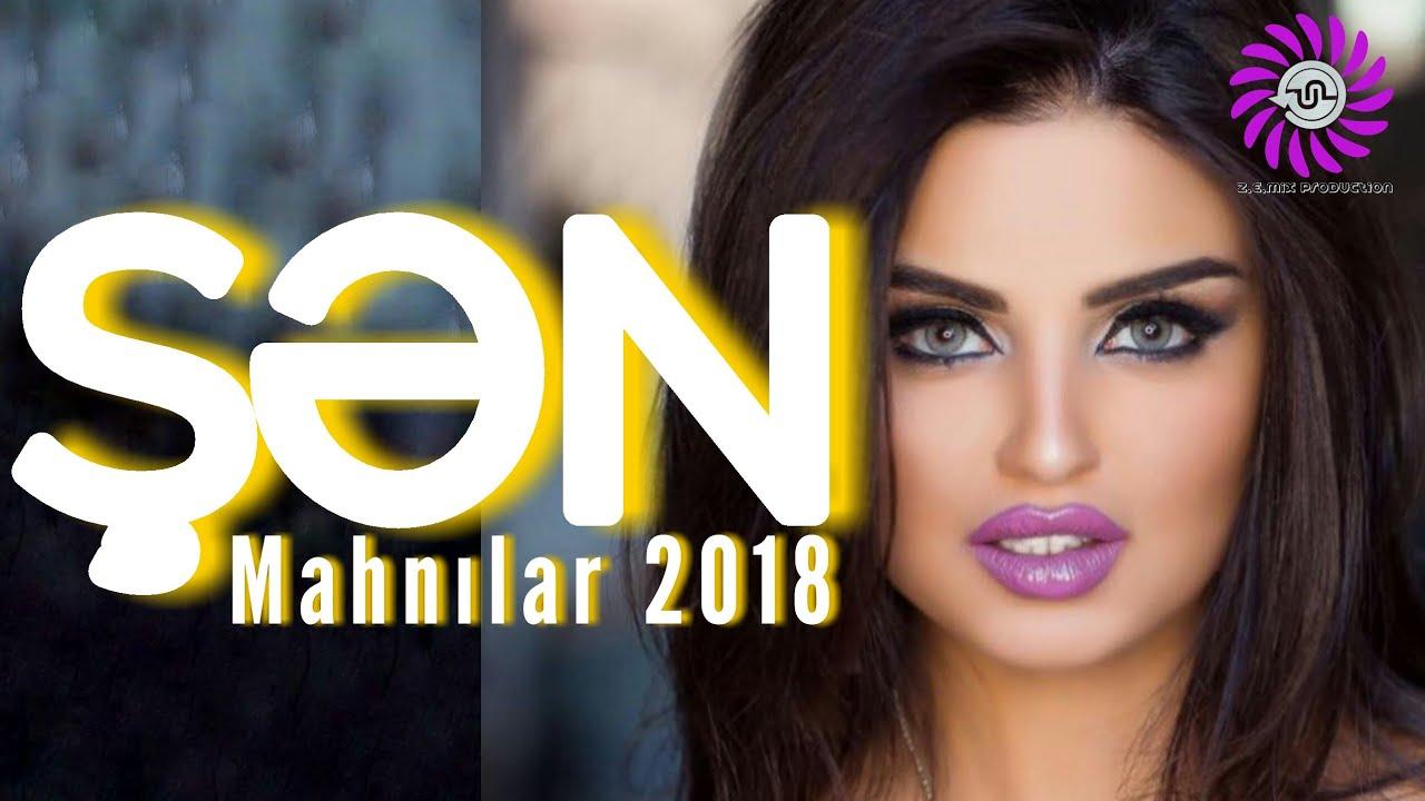 Sən Mahnilar 2018 Yigma Oynamali Toy Mahnilari Z E Mix Pro 75