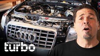 ¡Alguien incendió el motor de este Audi S6! | Chatarra de oro | Discovery Turbo
