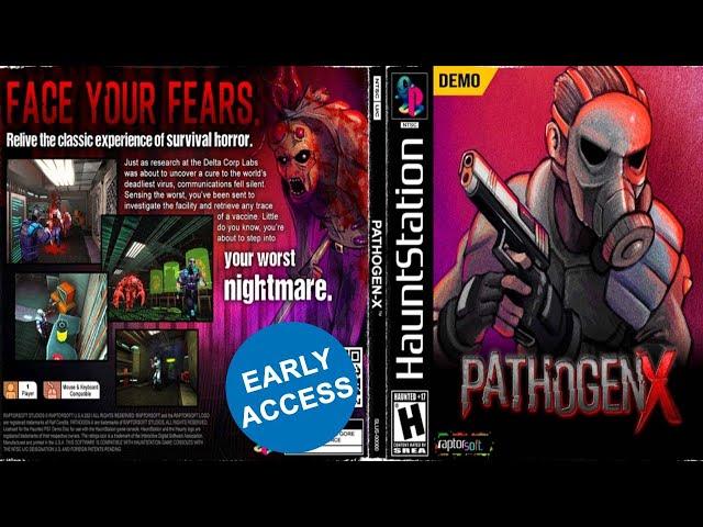 Pathogen X - Demo 2021  Resident Evil Style Horror PS1