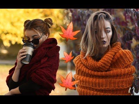 Как красиво сфоткаться осенью на природе