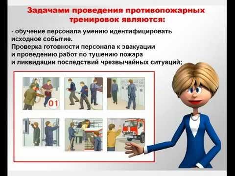 Пожарная безопасность предприятия. Организационные основы