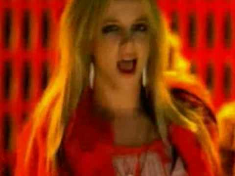 Britney Spears - Uniting Nations -Out of touch 1st version - HQ  circus time to tour - 2009