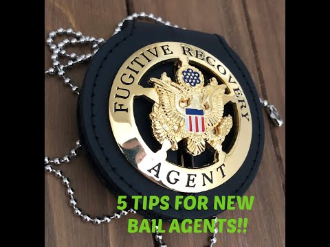 5 TIPS FOR NEW BAIL AGENTS|| FUGITIVE RECOVERY||BOUNTY HUNTERS.