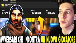 "👉 WHAT DOES it find a NABBO ACCOUNT on FORTNITE ita? ""EXPERIENT"" almost season 10 with robots"