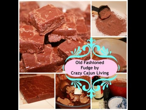 Old Fashioned Fudge – VERY OLD RECIPE – VIDEO RECIPE