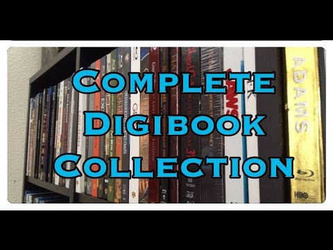 Complete Digibook/Digipak Collection 2015