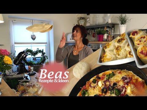 PIZZATEIG Grundrezept - Pizza oder Pizzabrötchen  selber machen