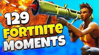 EPIC GUIDED MISSILE PLAYS! (BEST MOMENTS) | Fortnite Daily Funny and WTF Moments Ep. 129